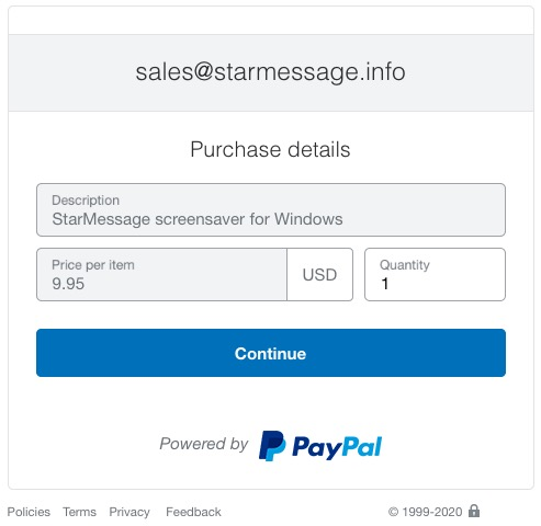 PayPal payment - how to sell software online