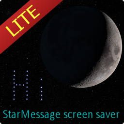 Moon screensaver icon