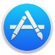 Mac Apple store logo